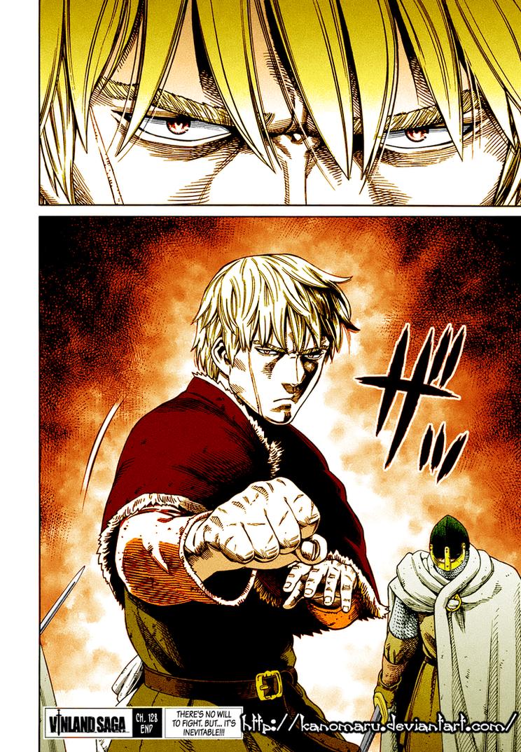 Thorfinn - preparing for battle by Kanomaru
