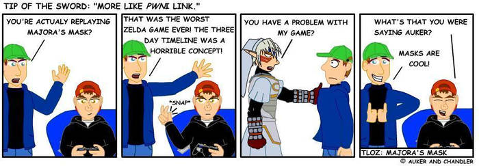 More Like Pwni Link by tipofthesword