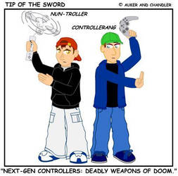 Deadly Weapons of Doom by tipofthesword