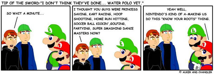 What's Next, Water Polo? by tipofthesword