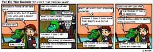 It Ain't the Trojan Man