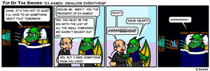 EA Games: Swallow Everything by tipofthesword