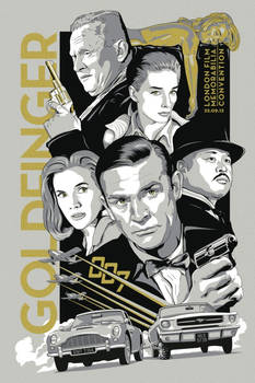 Goldfinger Convention Poster