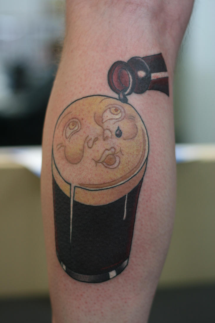 Nothing Like a Guinness by Lucky-Cat-Tattoo