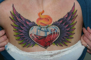 Give my Broken Heart Wings by Lucky-Cat-Tattoo
