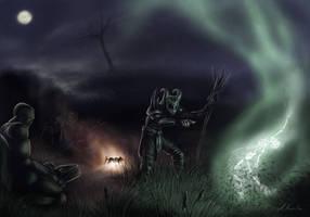 Diablo - You burned my food! by Van-Syl-Production