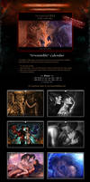 SALE! 'Irresistible' Fantasy Boys Love Calendar by Van-Syl-Production