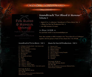 OFFER: For Blood and Honour - Terra Aluvis OST