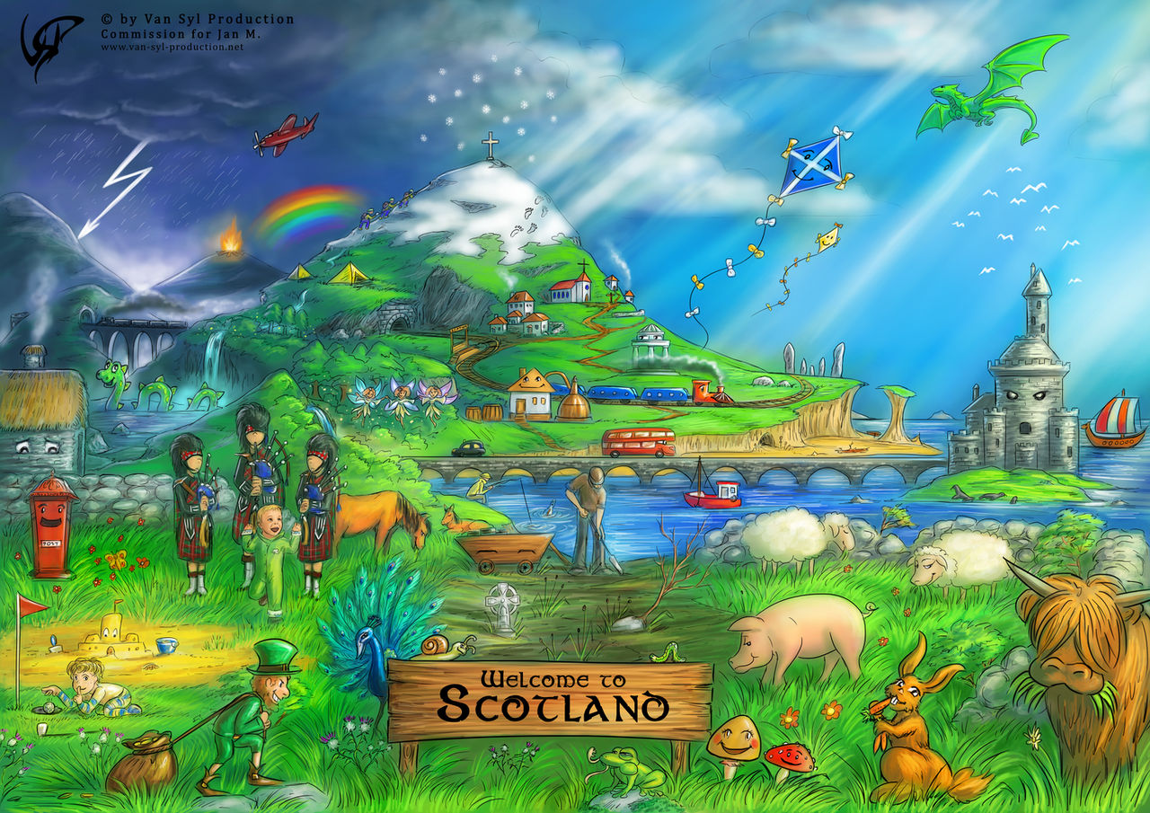 Commission: Welcome to Scotland