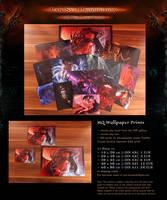OFFER: HQ Wallpaper - Fantasy Sci-fi Yaoi BDSM by Van-Syl-Production