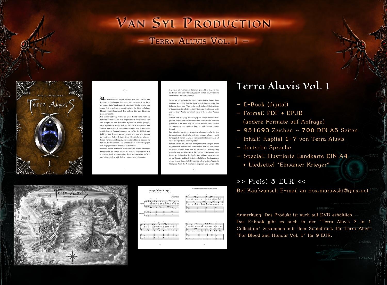 ANGEBOT: Terra Aluvis Vol.1 E-Book (deutsch) by Van-Syl-Production