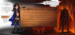 Thank you for your support! :)