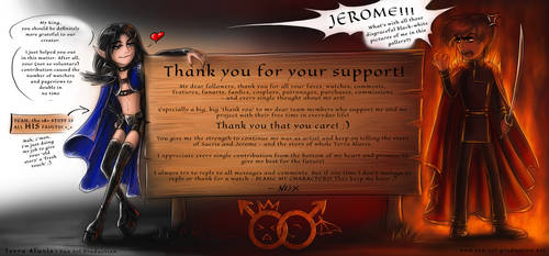 Thank you for your support! :) by Van-Syl-Production