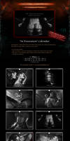 SALE! 'In Possession' BDSM BL Calendar by Van-Syl-Production