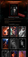 SALE! 'Black Roses' BDSM Yaoi Fantasy Calendar by Van-Syl-Production