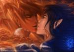 Kiss of Ocean and Fall