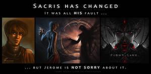 Why Sacris has changed