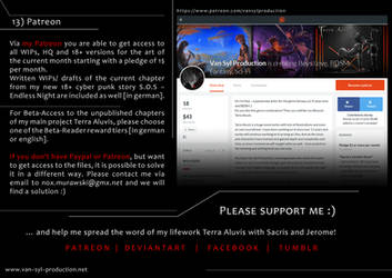 OFFER: My Patreon (possible without Patreon too!) by Van-Syl-Production