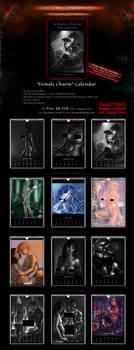 SALE! Calendar 'Female Charm' BDSM Fantasy (18+) by Van-Syl-Production