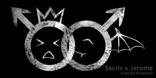Sacris x Jerome Logo