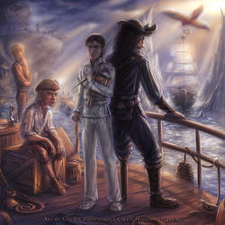 Commission: The Pirate Huckebein - His Beginnings