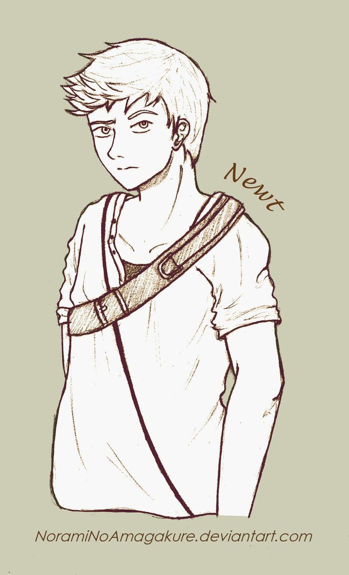 Newt .:. The Maze Runner by NoramiNoAmagakure