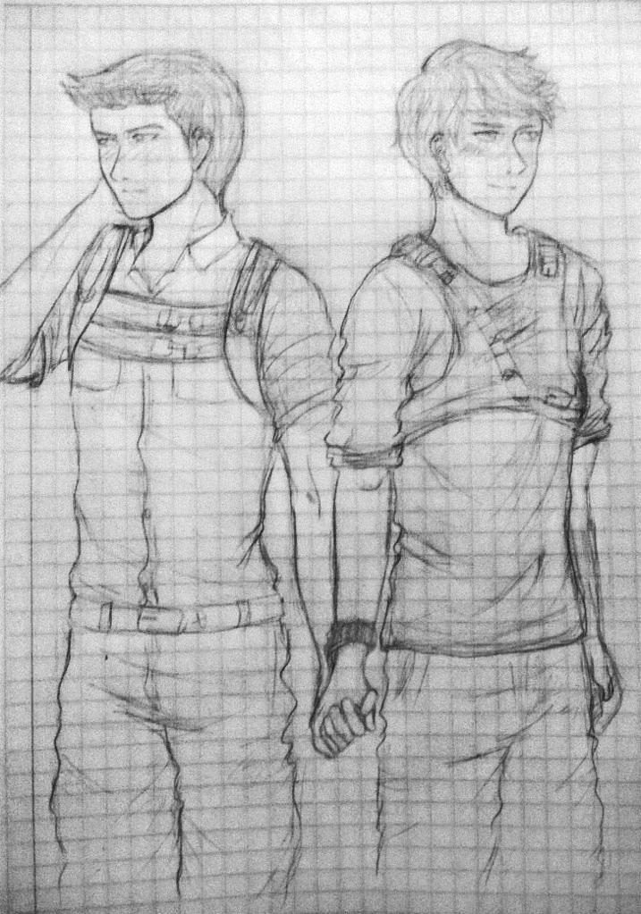 Pair of runners by NoramiNoAmagakure