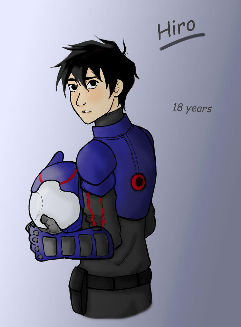 Older!Hiro by NoramiNoAmagakure