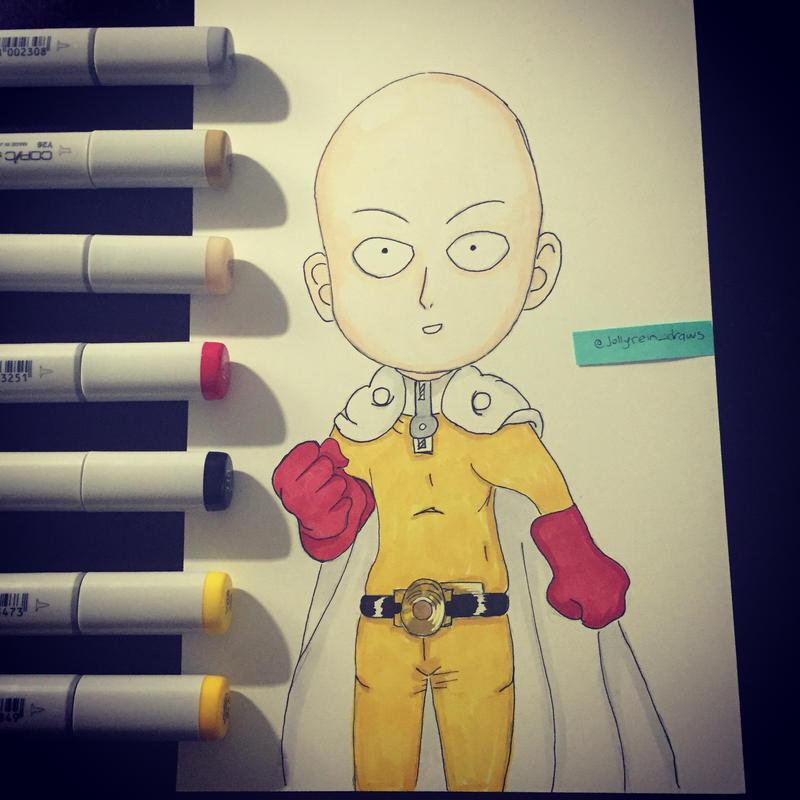 One Punch Man - Saitama by jollyrein