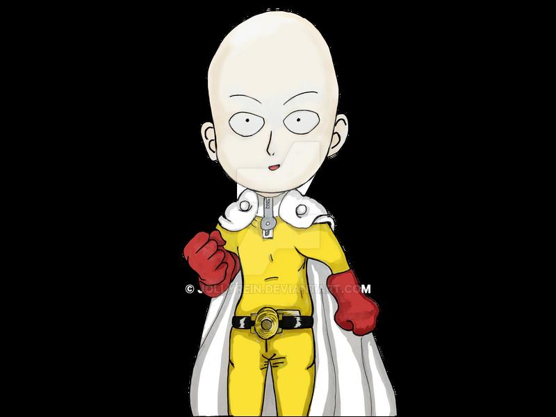 One Punch Man - Saitama Sensei Digital FanArt Edit by jollyrein