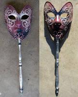 Kat Stock 329 -Venitian Mask 1 by Kaitrosebd-Stock