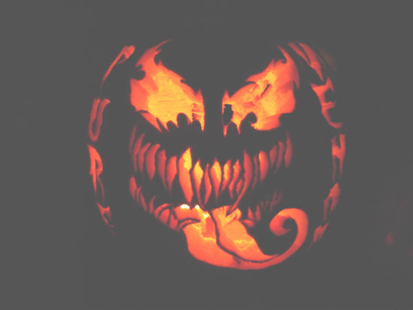 My Venom Pumpkin By Cosmic