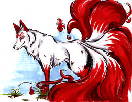 another kitsune by rouxberry