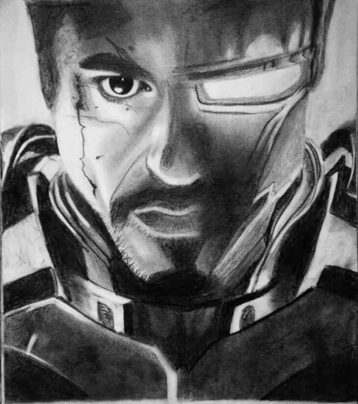 Robert Downey Jr. by MarvelUniverse26