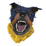 Gangsta doggo Rottie