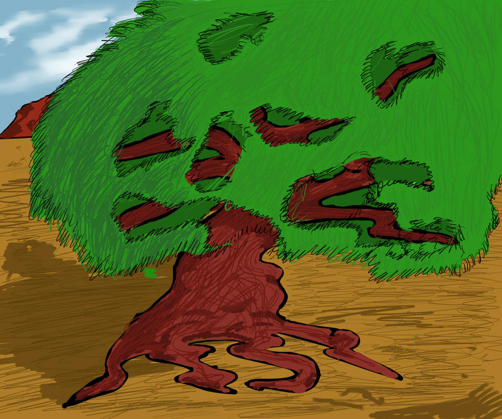 Arbol Caricatura By Sobraso On DeviantArt