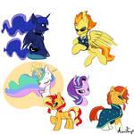 Stream Sketches - Canon Ponyos
