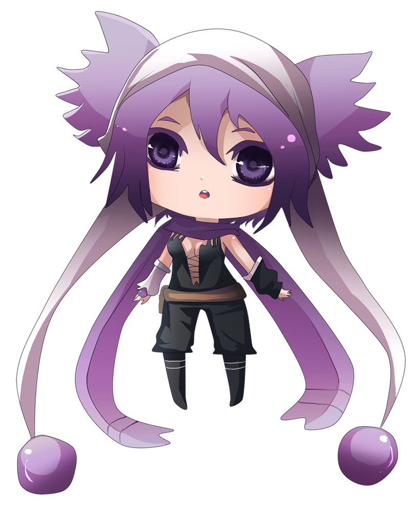 Chibi Ruu by MoonlightTheWolf