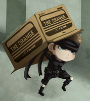 Solid Snake by MoonlightTheWolf