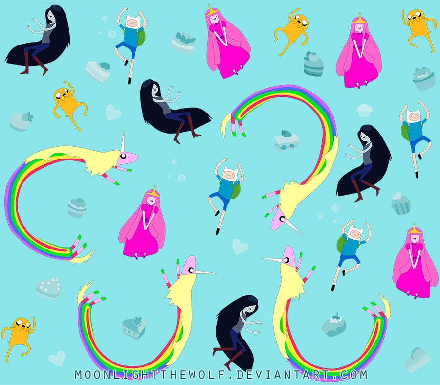 adventure time blue background - photo #38