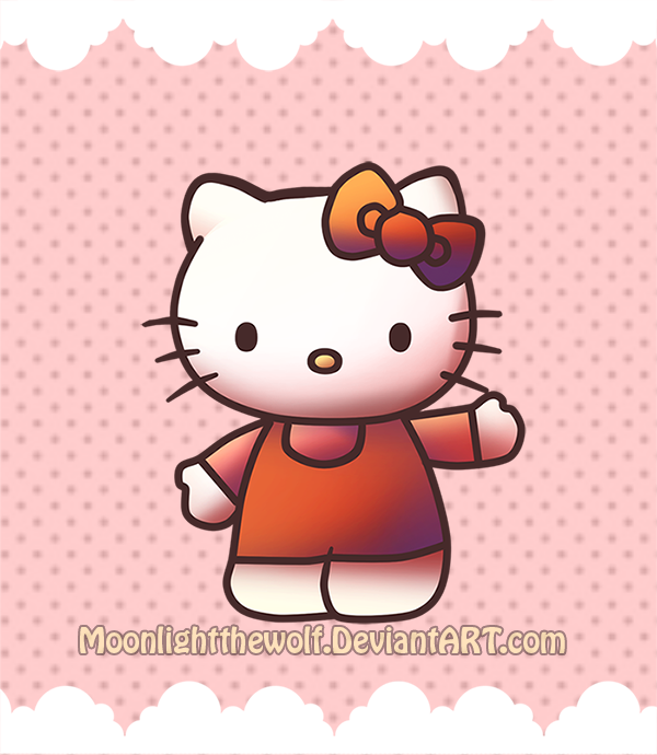 Hello Kitty by MoonlightTheWolf