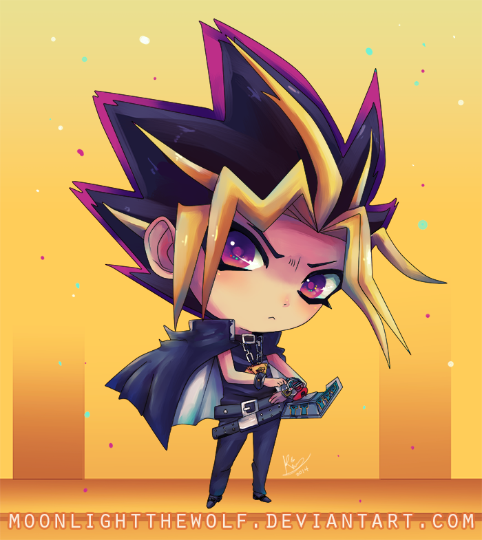 Chibi Yami Yugi By MoonlightTheWolf On DeviantArt