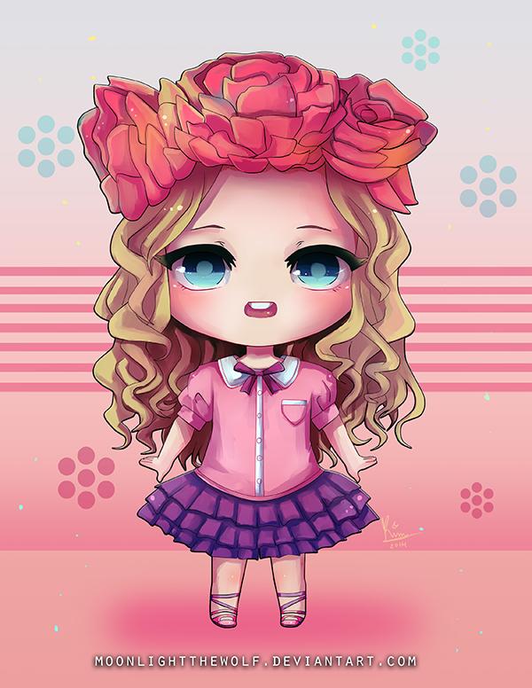 Flower Girl by MoonlightTheWolf