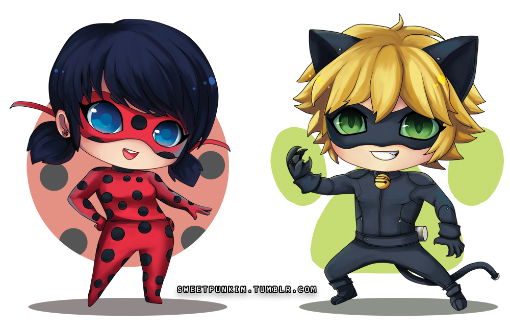 Wonderful Chibi Ladybug And Cat Noir!