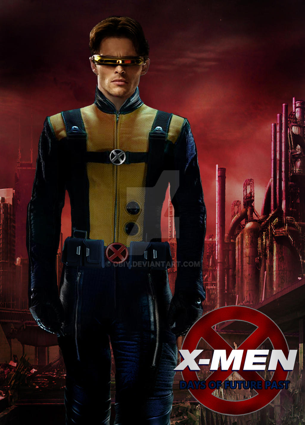 men Days of Future Past Cyclops by Obiy on DeviantArt X Men Days Of Future Past Photos