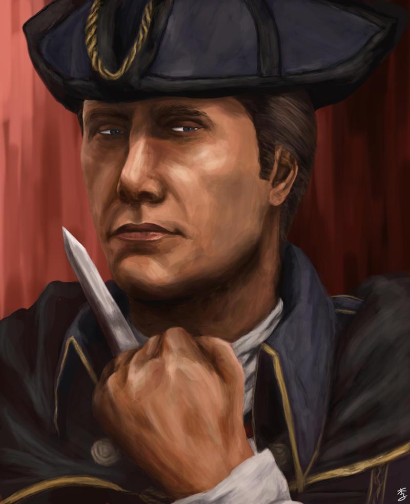 Grandmaster Haytham Kenway by Haladflire65