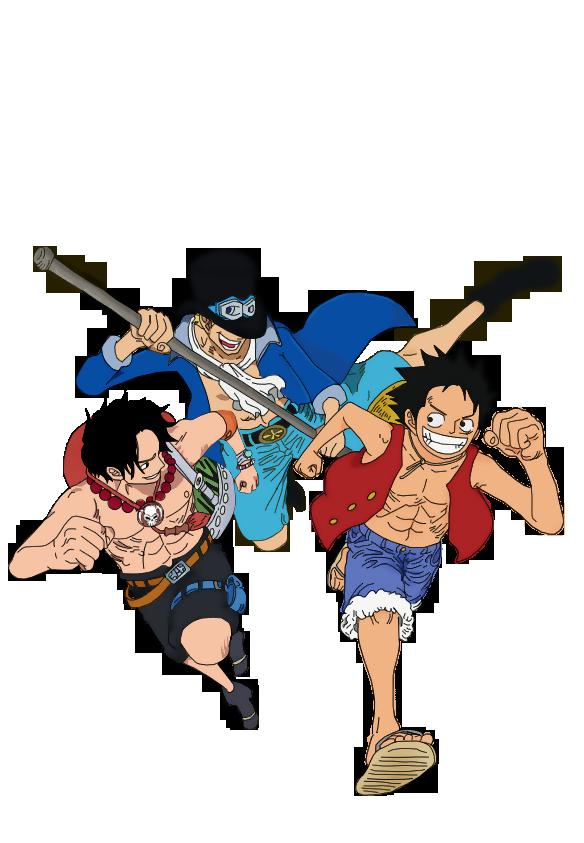 Luffy,Ace,Sabo by steprisc on DeviantArt