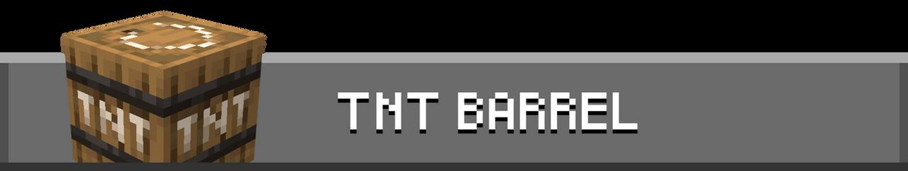 TNT Barrel Banner