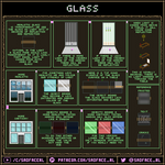 Glass Tutorial and Pixel Art guide