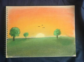 My first Ever Pastel Painting